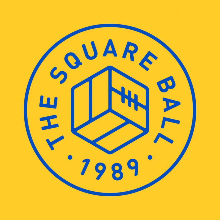 The Square Ball Logo