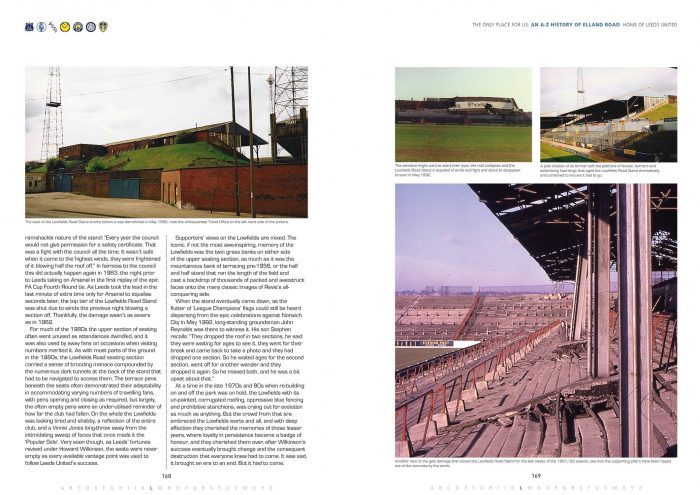 The Only Place For Us: An A-Z History of Elland Road | Signed & Personalised Book