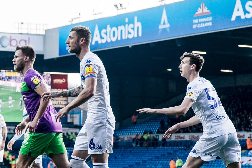 Liam Cooper Aapo Halme Leeds United Lee Brown The Square Ball