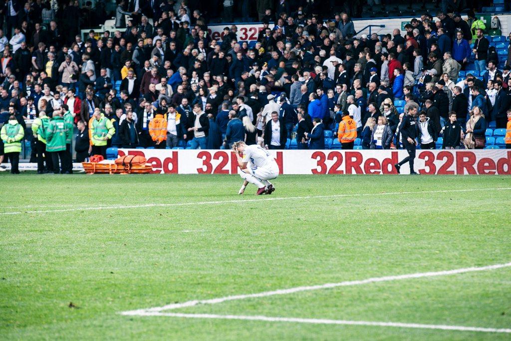 Ezgjan Alioski Leeds United Lee Brown The Square Ball