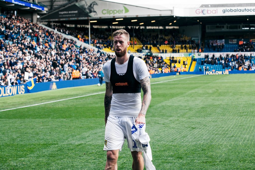 Pontus Jansson Leeds United Lee Brown The Square Ball